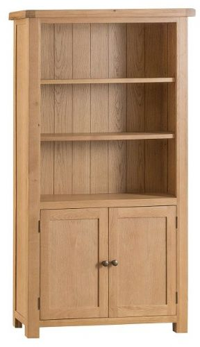 Chelmsford Oak Large Bookcase